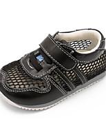 ילדים תינוק נעלי אתלטיקה נוחות עור קיץ קזו'אל נוחות עקב שטוח שחור שטוח
