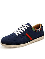 Men's Athletic Shoes Spring Summer Fall Comfort Fabric Casual Flat Heel Lace-up