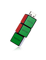 WEITASI cube U Disk USB 2.0 Flash Drive Memory Stick Storage Pen Disk Digital U Disk  32G