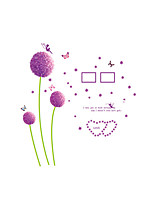 Wall Stickers Wall Decals Style Dandelion PVC Wall Stickers