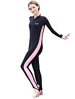 Women's Full Wetsuit Breathable Quick Dry Anatomic Design Chinlon Diving Suit Long Sleeve Diving Suits-Diving Spring Summer Fashion