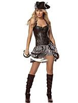Cosplay Kostýmy Pirát Festival/Svátek Halloweenské kostýmy Módní Leotard/Kostýmový overal Doplňky do vlasů Halloween Karneval Dámské