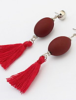 Women's Girls' Drop Earrings JewelryBasic Unique Design Tassel Statement Jewelry Durable USA Sexy Classic Fashion Elegant Vintage Punk