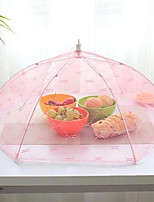 1Pcs   Food Umbrella Cover Picnic Barbecue Party Sports Fly Mosquito Net Tent  Color Random