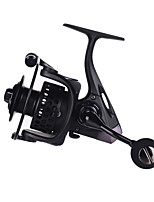Full Metal Saltwater Spinning Reel Left Right Interchangeable CNC Handle 131BB Powerful Baking Finish Body Sea Fishing Reels