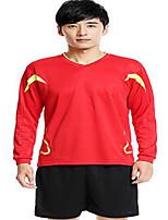 Men's Soccer Jersey + Bib Shorts Breathable Spring Summer Fall/Autumn Winter Classic Polyester Football/Soccer