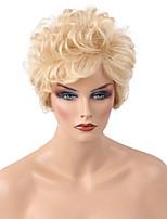 DIY Fashionable  Hot sale  Short Curly Hair   Human Hair Wig   Woman hair