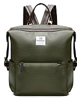 Unisex Other Leather Type Casual Backpack All Seasons