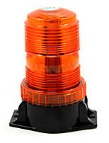 Lumière de signalisation stroboscopique flash unique balise orange voiture universelle feux de jour stationnement lumières led lumières