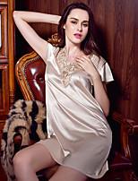 Women's Lace Lingerie Nightwear Solid-Medium Polyester Women's