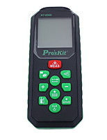Proskit  NT-6560 Handheld Digital 60m 196ft Laser Distance Measurer with Distance & Angle Measurement(1.5V AAA Batteries)