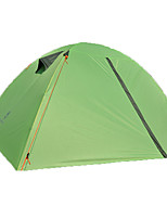 2 persons Tent Double Backpacking Tents One Room Camping Tent >3000mm Fiberglass OxfordMoistureproof/Moisture Permeability Waterproof