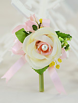 YUXIYING Wedding Flowers  Roses Boutonnieres Wedding Party/ Evening Cotton Silk