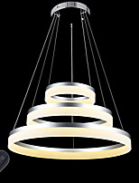 Dimmable Modern LED Acrylic Pendant Lights Ceiling Chandelier Lamp Lighting 40W with Remote Control