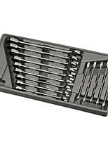 Jtech Ratschenschlüssel 14 Stück 060908 manuelles Werkzeugset