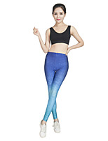 Women's Running Tights Breathable Soft Comfortable Spring Summer Fall/Autumn Winter Yoga Leisure Sports Running Polyester TightIndoor