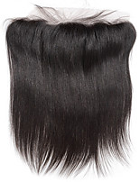 8Inch Braizlian Straight Lace Frontal Closure Best Virgin Brazilian human hair closures Free/Middle/3Part Closure