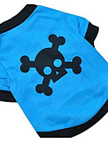 Dog Vest Dog Clothes Summer Vampires Cute Fashion Casual/Daily Blue Green
