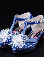 -Девочки-Свадьба Повседневный Для вечеринки / ужина Для праздника-Лак Дерматин-На плоской подошве-Обувь для девочек Удобная обувь