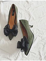 Women's Heels Summer Club Shoes Rubber Party & Evening Almond Green Red Black