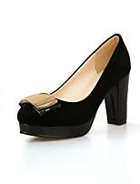 Femme-Mariage Bureau & Travail Décontracté--Gros Talon-Confort Nouveauté-Chaussures à Talons-Synthétique Similicuir Polyuréthane