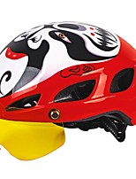 NUCKILY New Integrated Helmet with Glasses Goggles Helmet