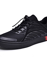 Herren-Sneaker-Outddor-PU-Flacher Absatz-Komfort-