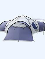 LYTOP/飞拓 > 8 человек Световой тент Двойная Складной тент Четырехкомнатная Палатка Стекловолокно ОксфордВодонепроницаемый