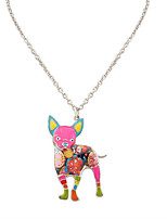 Women's Men's Pendant Necklaces Jewelry Animal Shape Chrome Unique Design Dangling Style Animal Design Statement Jewelry Simple Style