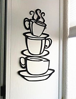 Delicate Coffee Cup Can Remove The Decorative Wall Stickers