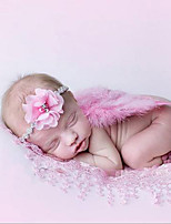 Newborn Baby's Feather  Modelling of the Angel White Green Pink Red Photographic Cloths