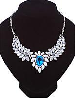 Жен. Ожерелья-цепочки В форме цветка Сплав Мода Euramerican Бижутерия ДляСвадьба Для вечеринок Особые случаи День рождения Обручение
