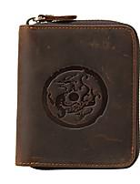 Unisex Wallet Cowhide Casual
