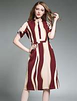 Maxlindy Women's Going out / Party/Holiday Vintage / Street chic /A Line Dress