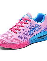 Women's Sneakers With Air Cushions Spring Summer Couple Shoes Light Soles Tulle Athletic Fuchsia Orange Running Shoes