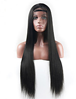 130% Density Straight Full Lace Human Hair Wigs For Black Women Pre Plucked Natural Hairline With Baby Hair Remy Hair Wigs