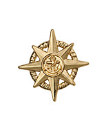Boys´ Other Brooches Euramerican Personalized Gold Plated Alloy Star Anchor Bronze Gold Jewelry For Wedding Party Daily Casual