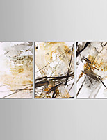 Canvas Set Abstract Still Life Classic European Style,Three Panels Canvas Vertical Print Wall Decor For Home Decoration