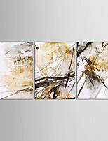 Nature morte Classique Style européen,Trois Panneaux Toile Verticale Imprimer Art Décoration murale For Décoration d'intérieur