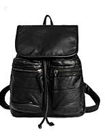 Unisex Backpack PVC Summer Winter All Seasons Spring Formal Sports Outdoor Shopping Climbing Black