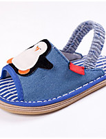 Kids' Baby Loafers & Slip-Ons First Walkers Fabric Spring Summer Casual Outdoor First Walkers Flat Heel Navy Blue Blue 1in-1 3/4in