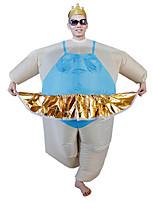 Fantasias de Cosplay Artigos de Halloween Baile de Máscara Fantasia Inflável Fantasias Cosplay de Filmes Collant/Pijama Macacão Ventilador