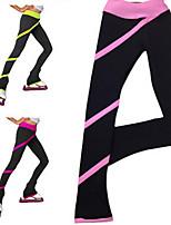 Eiskunstlaufkleider Damen Kinder Eislaufen Strumpfhosen/Lange Radhose Hochelastisch Eiskunstlauf-Kleid warm halten SchweißableitendSamt