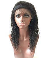Top Quality High 130% Density Natural Black Wig Brazilian Humman Hair Lace Front Wigs Curly Wigs Full Lace Wigs For Beautiful Woman With Baby Hair