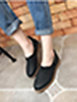 Women's Heels Comfort Synthetic Casual Almond Black