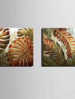 E-HOME Stretched Canvas Art Magical Leaves  Decoration Painting One Pcs