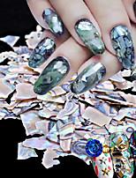 1PC DIY Japanese Nail Art Act  5 g Pack Natural Ultra-Thin Big Shell Piece Abalone Shell