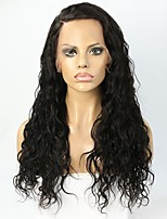 Illusion Hairline Natural Wave  Human Hair Lace front Wig For Blackwomen with Baby Hair