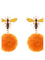 Boucles d'oreille goutte Bijoux Original Cercle De côté Double Perle Gothique Bijoux de Luxe Alliage Forme de Cercle Bijoux PourMariage