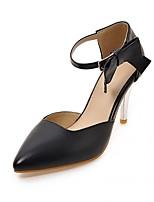 Femme-Bureau & Travail Décontracté Soirée & Evénement--Gros Talon-Nouveauté-Chaussures à Talons-Synthétique Similicuir Polyuréthane